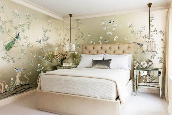 . Modern Bedroom Wallpapers   Stylish Trends for 2020   New Decor