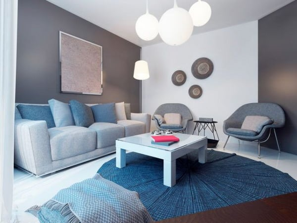Living Room Paints: Modern Ideas For 2020 - New Decor Trends ...