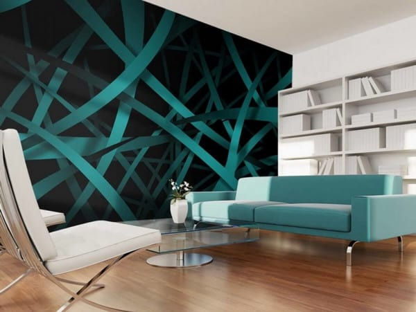 2020 Modern 3D wallpaper in the interior