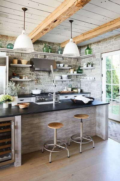New Decoration Ideas for Rustic Kitchens