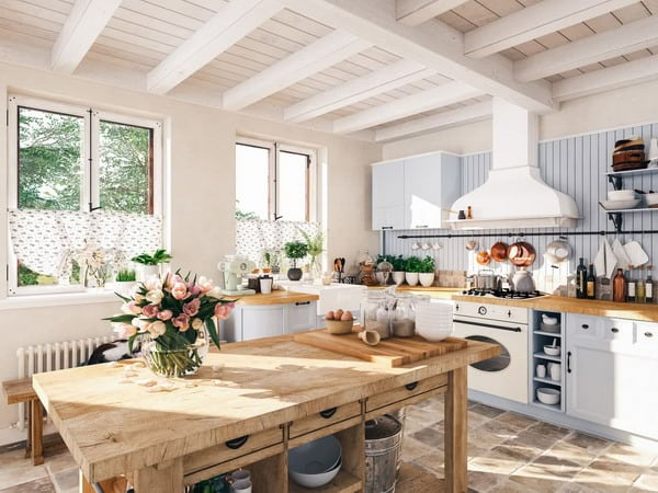 Rustic kitchen decorations