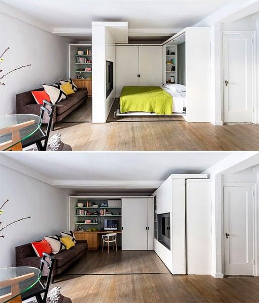 Tiny Apartments: 50 New Small Studio Apartment Design Trends 2021