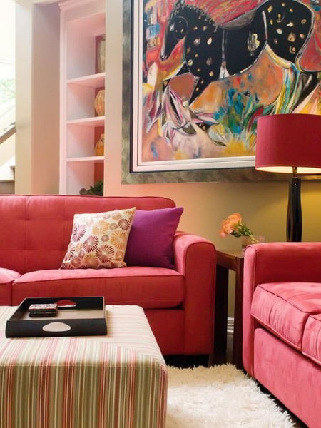 Colour Trends For Living Rooms 2021