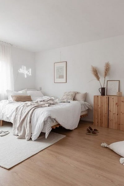 New Interior Decoration Trends for Modern Double Bedrooms 2021
