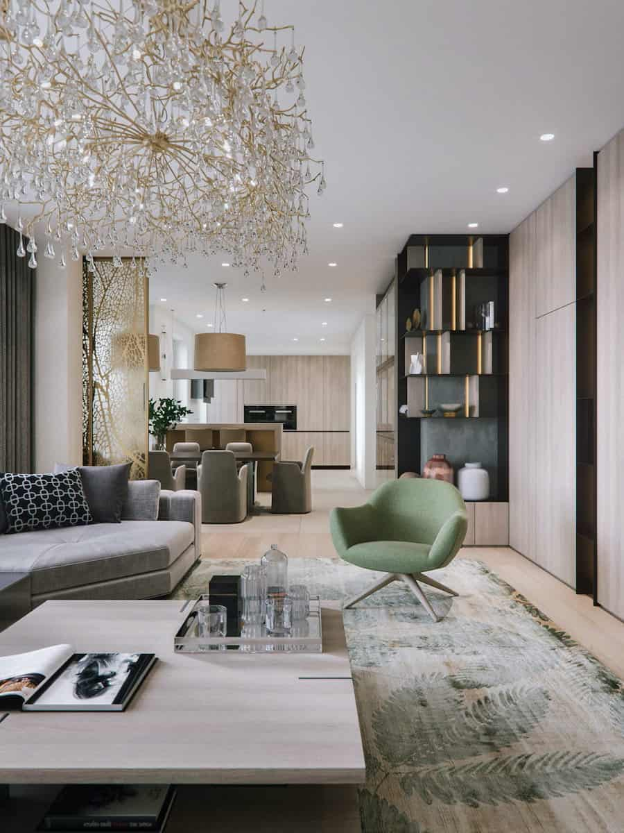 Refined Interior of the Living Room 2021: Stylish Trends In Design, Features Of The Layout, Choice Of Style