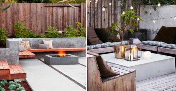 Decorating terraces and gardens 2021