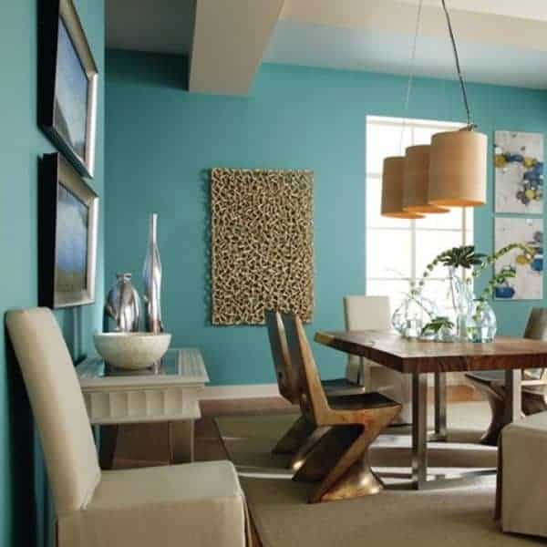 Fashionable paint colors in the interior of 2021
