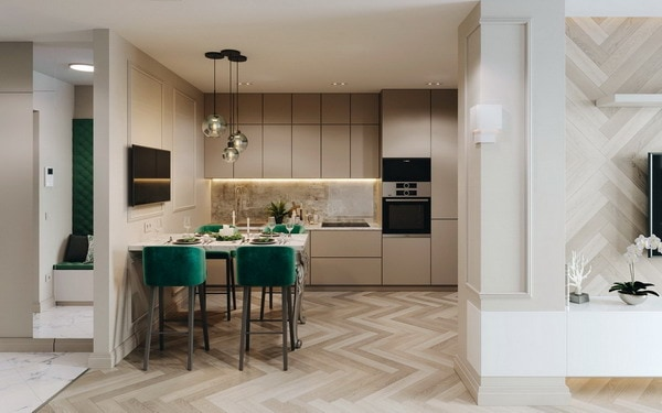 Most Popular Colours for Kitchens 2021