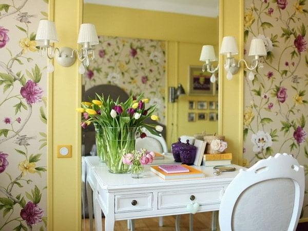 Popular Combined Wallpaper In The Living Room Designs 2021 ...