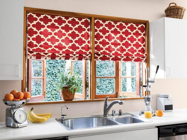 New Decor Trends For Kitchen Curtains, Patterned Kitchen Curtains